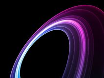 Cool colorful abstract shape Royalty Free Stock Photo