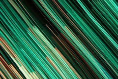 Cool colorful modern lines Royalty Free Stock Photo