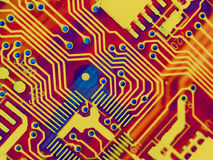 Cool Computer Parts Background Royalty Free Stock Photography