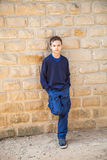 Cool confident boy Royalty Free Stock Photography