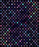 Glitter lilac blue violet mosaic festive background. Colored shimmer neon lights pattern. royalty free illustration