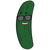 Cool cucumber Royalty Free Stock Image