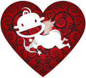 Cool Cupid Royalty Free Stock Photography