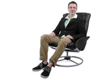Cool Dad Relaxing royalty free stock images