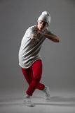 Cool dancer guy stock images