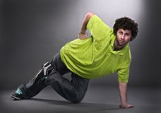 Cool dancer man Stock Photo