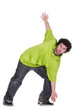 Cool dancer man Royalty Free Stock Photography