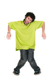 Cool dancer man Stock Images