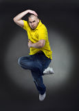 Cool dancer man Royalty Free Stock Image