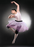 Cool dancer woman Royalty Free Stock Images
