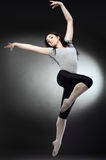 Cool dancer woman stock image