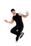 Cool dancing man Royalty Free Stock Image