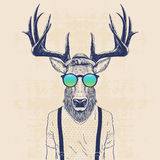 Cool deer Stock Photo