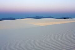 The cool desert in the early morning Stock Photography