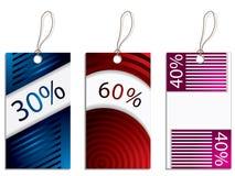 Cool new label design set Stock Photo