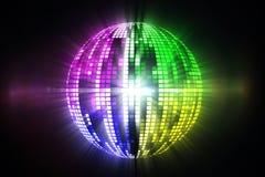 Cool disco ball design Royalty Free Stock Photos