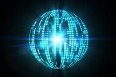 Cool disco ball design Stock Photography