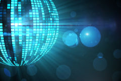 Cool disco ball design Royalty Free Stock Images