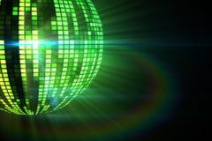 Cool disco ball design Royalty Free Stock Photo