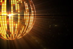 Cool disco ball design Stock Photos