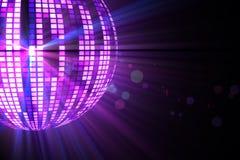 Cool disco ball design Stock Photo