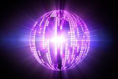Cool disco ball design Royalty Free Stock Image