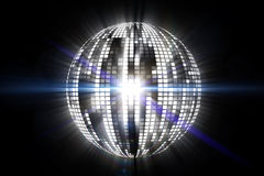 Cool disco ball design Royalty Free Stock Photography