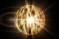 Cool disco ball design Stock Photos