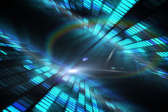 Cool disco design Royalty Free Stock Photography