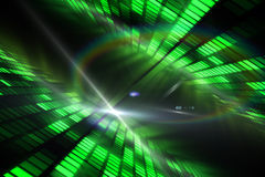 Cool disco design Royalty Free Stock Images