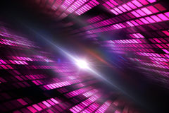 Cool disco design Stock Images