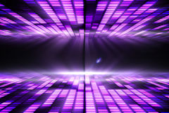 Cool disco design Royalty Free Stock Image