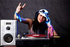 Cool DJ Stock Image