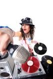 Cool DJ Royalty Free Stock Photos