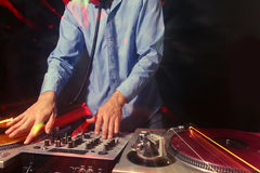 Cool dj Stock Photo
