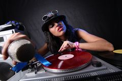 Cool DJ Royalty Free Stock Image