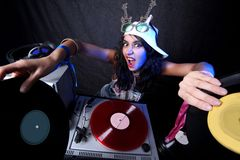 Free Cool DJ In Action Stock Photography - 8620932