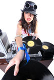 Cool DJ isolated Stock Photos