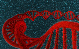 DNA in red - #1 Stock Photos