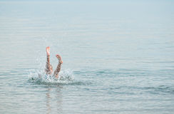 Cool down splash Stock Photos