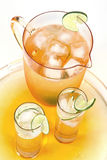 Cool drink. A cool drink on a background Royalty Free Stock Photo