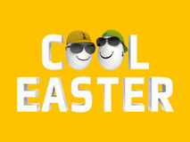 Cool easter Royalty Free Stock Image