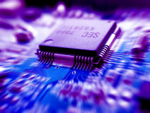 Cool electronic. Electronic board Royalty Free Stock Photo