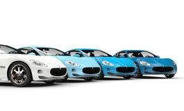 Cool Fast Cars Stock Images
