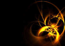 Cool Fire Fractal Royalty Free Stock Image