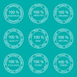 Cool flat  icon, one hundred percent guarantee. Stock Photography