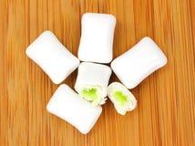 Cool Flavor Center Gum Stock Photo