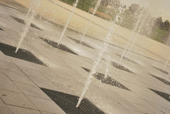 Cool fountain Royalty Free Stock Photo
