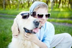 Cool friends Royalty Free Stock Image