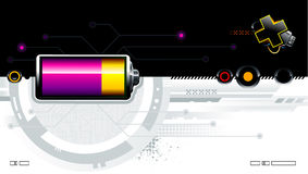 Cool futuristic background. For your creative design Royalty Free Stock Photography